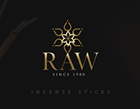 Raw Incense Sticks Packaging
