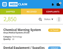 UI and UX Design - Global Medical Equipment Supplier