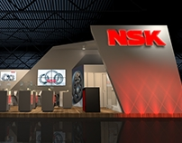 Stand NSK Rolamentos - Expomafe 2017