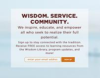 Himalayan Institute website redesign