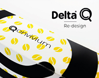 Delta Q Redesign | Packaging