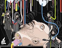 Gig poster BUDYŃ & CHANGO