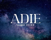 Adie - Free Serif Demo Font