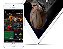 NBA Game Time iOS App