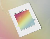 Colors In Me- 2018 Portfolio