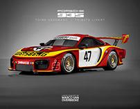 Porsche 935 - Toine Hezemans - tribute livery concept