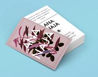 Ana Naja / Cartão de visitas