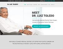 Web Design & Development for Dr. Luiz Toledo