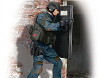 S.W.A.T. 1:24 (box art for ICM )