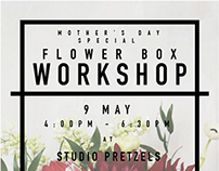 TSIH - Mother's Day Special Flower Box Workshop