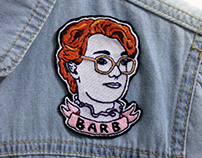 Stranger Things Patch - Barb