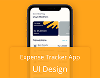 Expense Tracker App - UI Design