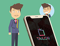 Application IOS Tailor (simplifié)