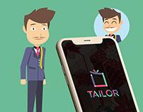 Application IOS Tailor (simplifié)