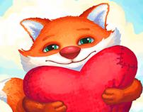 Fox Valentine's Day