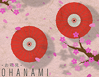 Ohanami Poster