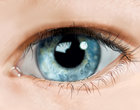 Realistic Eye Painting