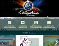 The Everything Company (Web/Print Branding)