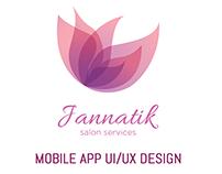 Jannatik Mobile Application UI/UX