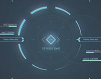 Sci-Fi HUD