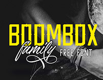 Boombox Family Free Font