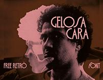 GELOSA CARA - FREE RETRO FONT