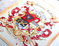 Zunner-Keating Coat of Arms
