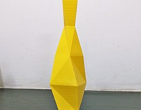 3D Printed Modern Vase