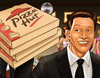 Pizza Hut Storyboards (2015)