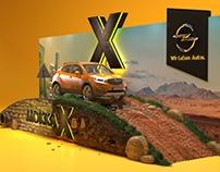 Opel mokka car stand