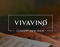 VIVAVINO WEBSITE and BRAND IDENTITY