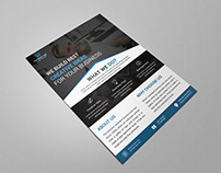 Corporate Business Flyer Title Design