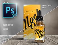 PSD Mock-up Dropper Bottle Vape