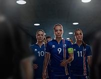 Iceland Women Soccer Team EURO 2017