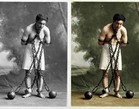 Bring back the past, colorized old photographs