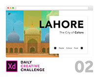 #2 City Landing Page | Daily Creative Challenge