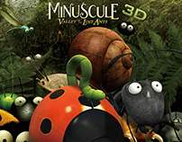 Minuscule 3D (Film) Graphic Design