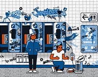 Memories at Subway Station (2020)
