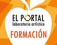 """Dossier para """"El Portal - Formación artística"""""""