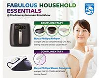 PHILIPS Fabulous Household Essentials @ Harvey Norman