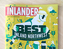 "Inlander ""Best Of ""Cover"