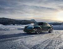 911 Classic: A snowy road trip (CG)
