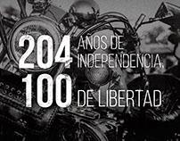 Harley Davidson, 100 años en Paraguay.