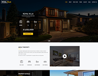 RoyalVilla - WordPress Theme for Single Property