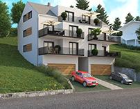 Apartment Building in Scheidegg, Germany, 2019