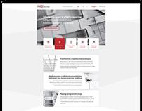 SVOK company WEB design