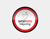 Turkish Spor Toto Super League Logo