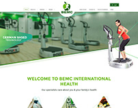 BEMC International Health ~ Webfolio