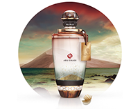 Abu Dhabi Perfume Bottle
