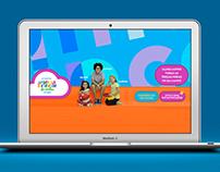 Vamos Brincar de Cantar - Identidade visual de websérie